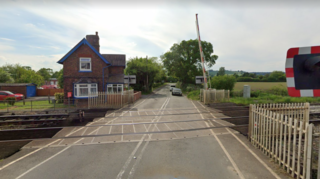 Working together: Network Rail replans major work at Craven Arms level crossing to keep local businesses moving: Craven Arms Level Crossing (002)