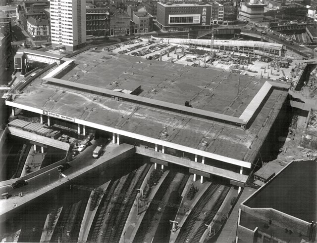 The redevelopment of Birmingham New Street in the 1960s