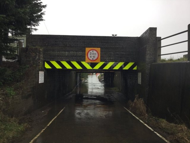 One of the country's most hit railway bridges is repaired and strengthened allowing Cambridgeshire road to reopen: Stones bridge completed 2021