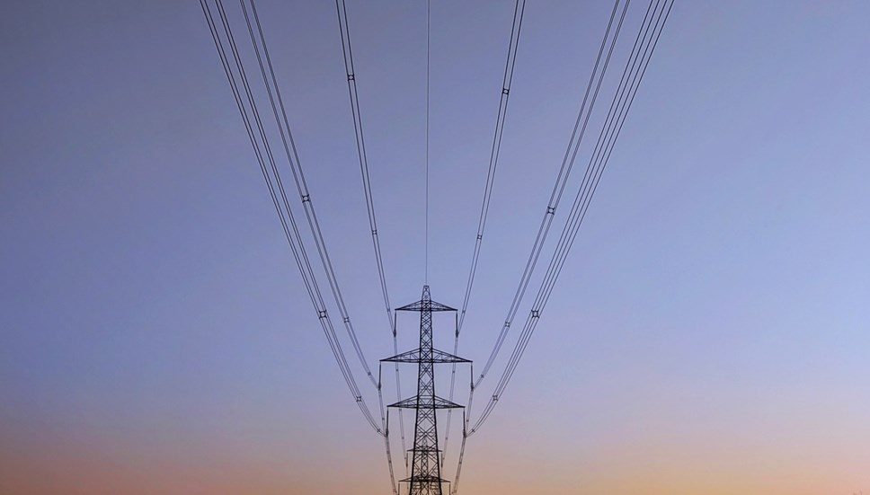 Opportunities to get involved with ENA's Open Networks Project: Electricity pylon and cables (landscape)