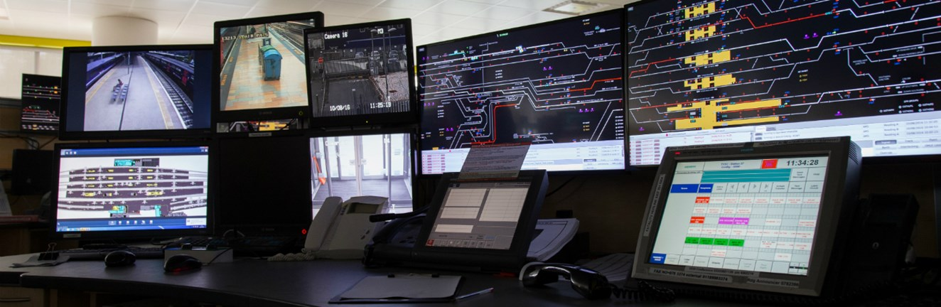 World first rollout for British technology innovation set to deliver a more punctual railway: Luminate technology operating in the Thames Valley signalling Centre in Didcot