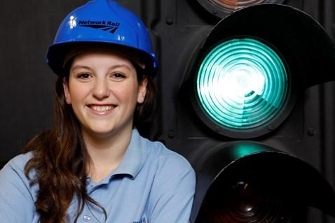 Daryl Levison Network Rail former signalling apprentice, Swindon