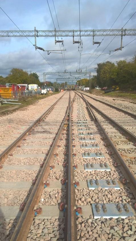 New track installed at Kelvedon