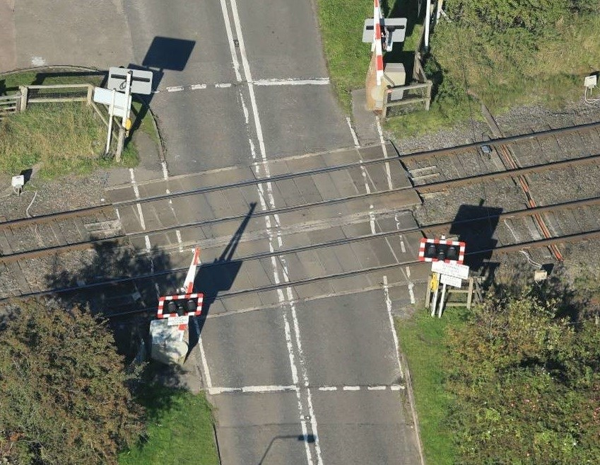 Network Rail begins improvement work at Leicestershire level crossing this month: Broome Lane level crossing