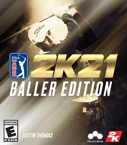 PGA TOUR 2K21 Baller Edition Key Art