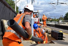 Passengers thanked as railway reopens on time after upgrade work: Bristol bank holiday work