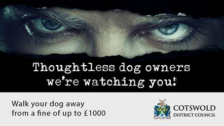 Residents urged not to fall foul of the law: Dog Fouling