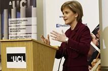 First Minister speech at UCL