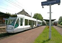 Example of a tram train: From Regio Citadis Kassel