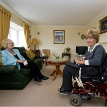 Minister for Housing meets mobile home owners
