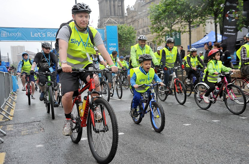 Council chiefs to discuss cycling developments in Leeds: skyrideleeds2015.jpg