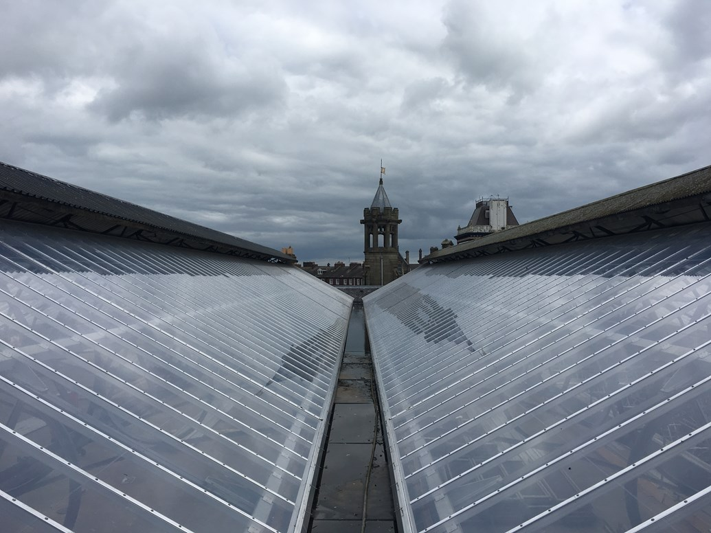 £14.5m roof investment is transforming Carlisle station: Carlisle station roof