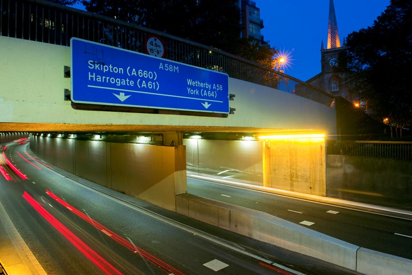 Woodhouse Tunnel up to full strength as improvement project completed: woodhousetunnelnight1.jpg