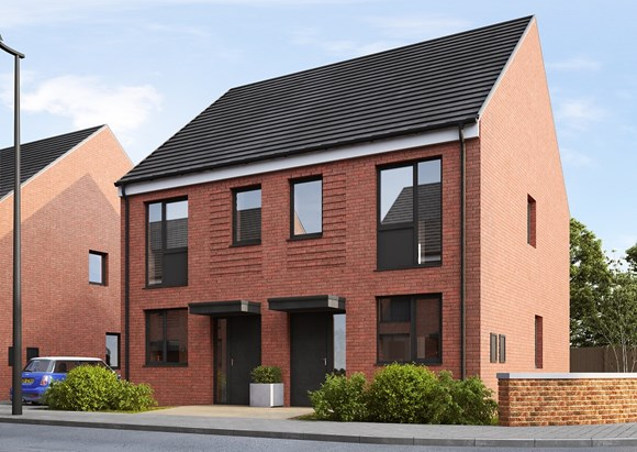 First homes released for sale at Lowfield Green: The Burdock 2-bed semi