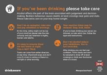 Keep a clear head leaflet