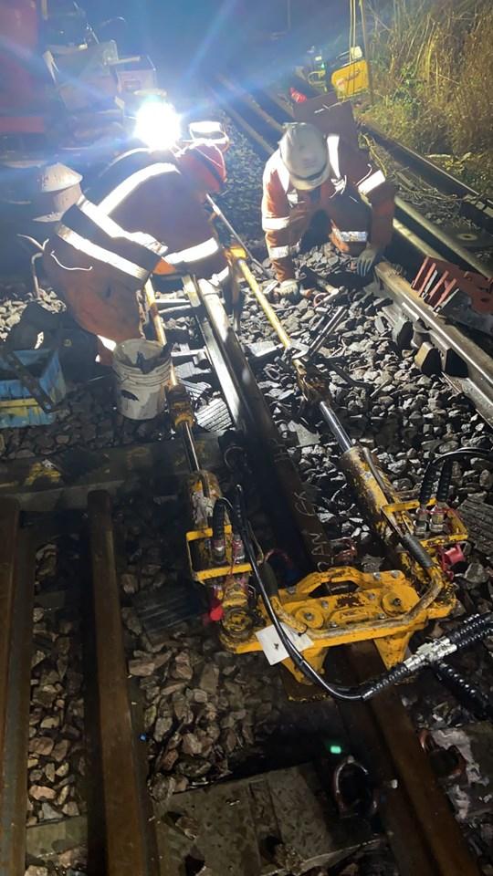 Felixstowe rail renewal