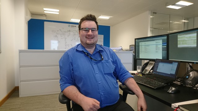 David South, from Abergavenny, joined Network Rail as an apprentice in 2007