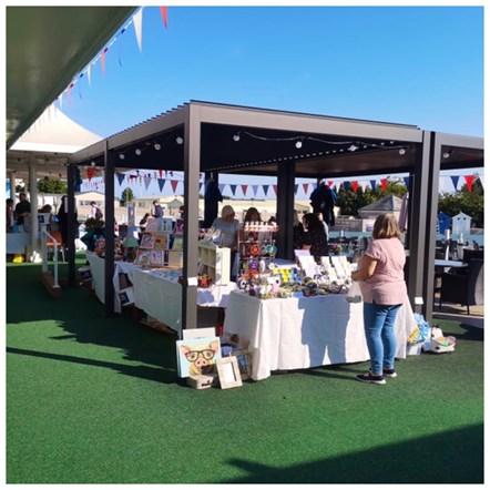 Local Stalls at Berwick Harbour Day