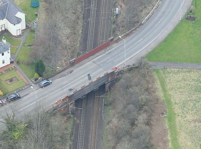 Old Kilpatrick road closure is vital step towards rail bridge refurbishment: OK1-2