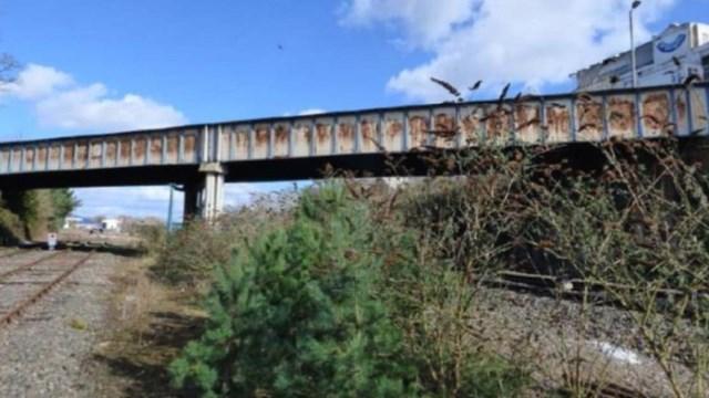 Millway road bridge - before