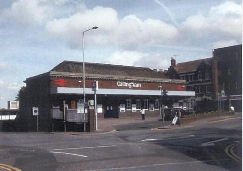 Gillingham Station - Existing Front