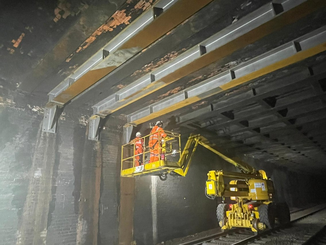 Barnack Road reopens over two weeks earlier than planned – Network Rail continues with final stages of tunnel repairs: Barnack Road reopens over two weeks earlier than planned – Network Rail continues with final stages of tunnel repairs