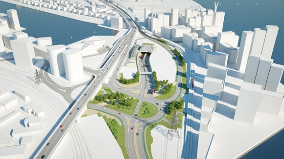 TfL Image - Silvertown portal