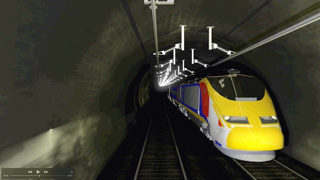 The 130-year-old Severn Tunnel to close for six weeks for essential railway upgrade: Severn Tunnel  3D-2