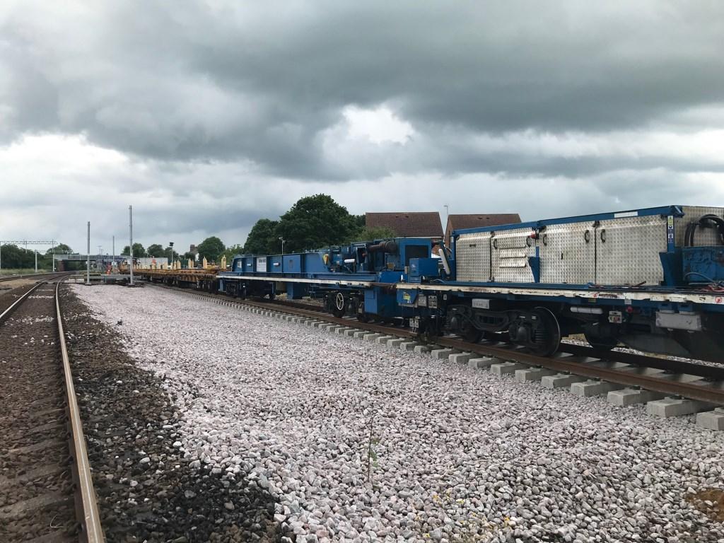 Network Rail completes track improvements between York and Church Fenton: Network Rail completes track improvements between York and Church Fenton