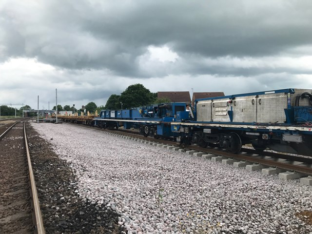 Network Rail completes track improvements between York and Church Fenton