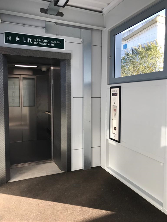 £4m Step-Free access work starting at St Mary Cray Station: Crawley Access for All Lifts (1)