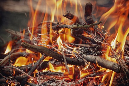 Don't make an ash of yourself: Support your neighbours by not lighting bonfires: Bonfire