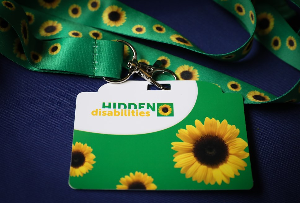 Sunflower scheme introduced by Avanti West Coast: Sunflower Lanyard 3