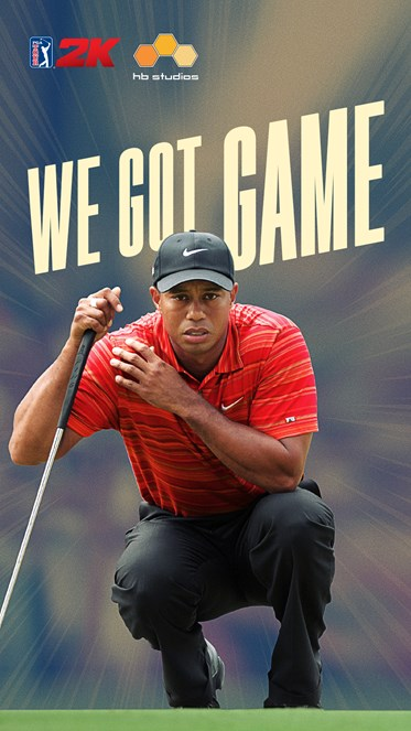 PGA TOUR 2K Tiger Woods Vertical