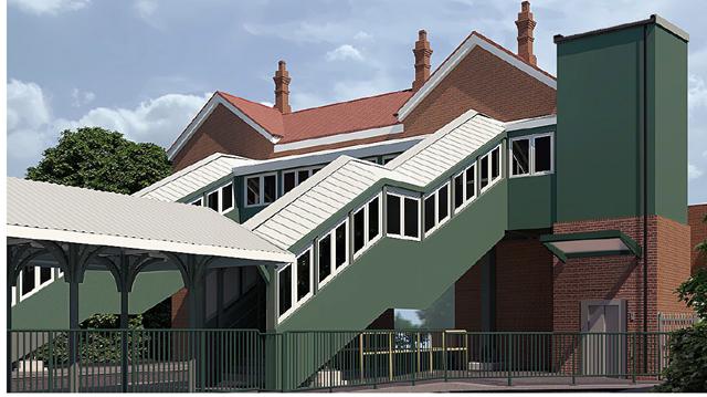 Eridge station -artist's impression