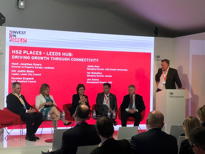 Industry leaders come together for Europe's largest regeneration project at MIPIM 2017: mipimleedsstationpanel.jpg