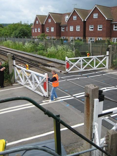 Wateringbury Level Crossing 2