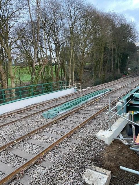 Postwick track works