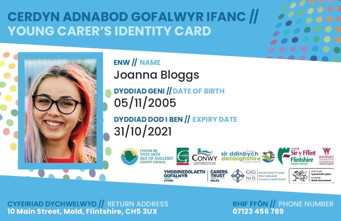 Young carers ID card