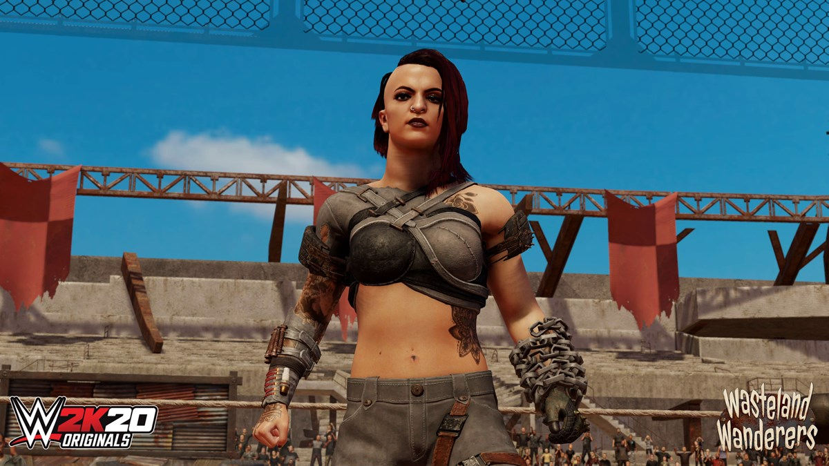WWE2K20 Originals Wasteland Wanderers Ruby Riott