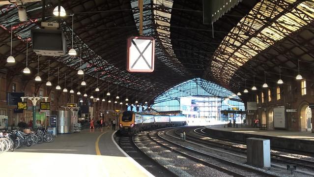 Biggest ever upgrade signals the start of Easter in Bristol: Bristol Temple Meads Platform 3