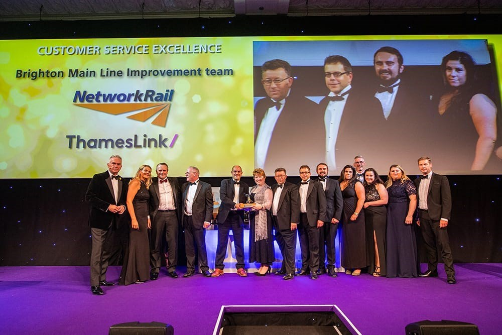 Brighton Main Line Improvement project scoops industry awards: National Rail Awards 2019 Customer Service Excellence