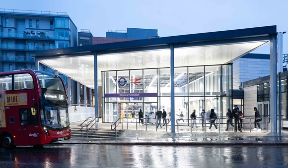TfL Image - Hayes & Harlington station-7