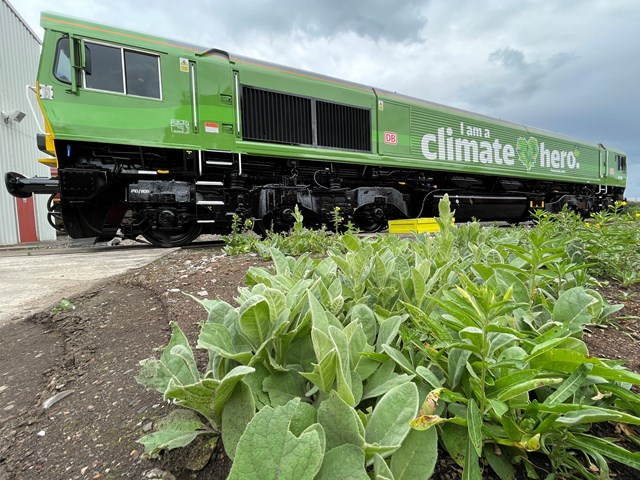 New Climate Hero Visiting Glasgow Central: Climate Hero Train