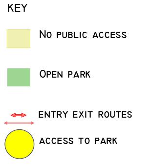 Roundhay map key-2