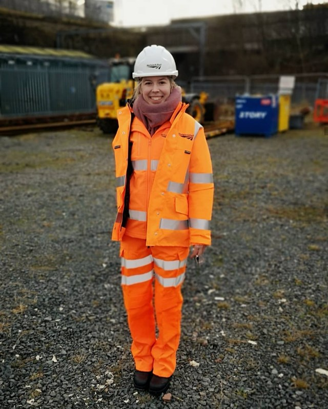 Network Rail key worker in North East moves house to help keep railway running reliably during Covid-19 pandemic: Jennifer Hayton