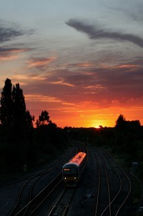 Chiltern service in Oxfordshire countryside: Chiltern service in Oxfordshire countryside