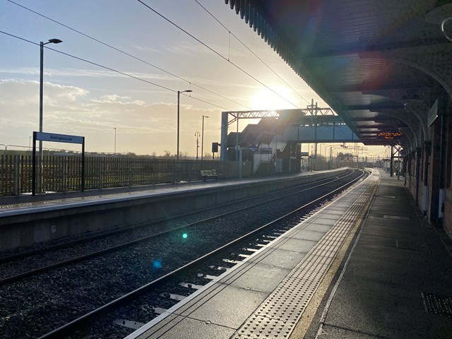 New line and platform promise improved services for passengers on Midland Main Line 3