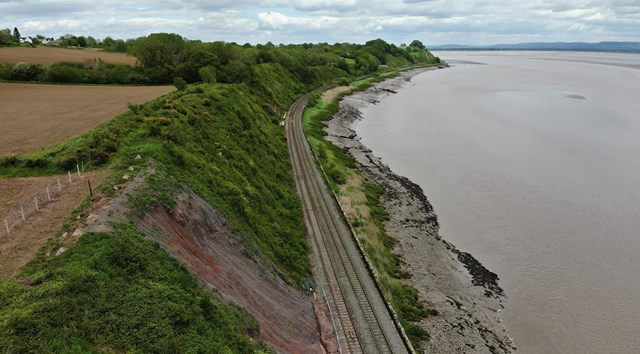 Network Rail announces £25m investment  to secure future of critical Wales and Borders transport link: Severn Estuary Resilience Programme