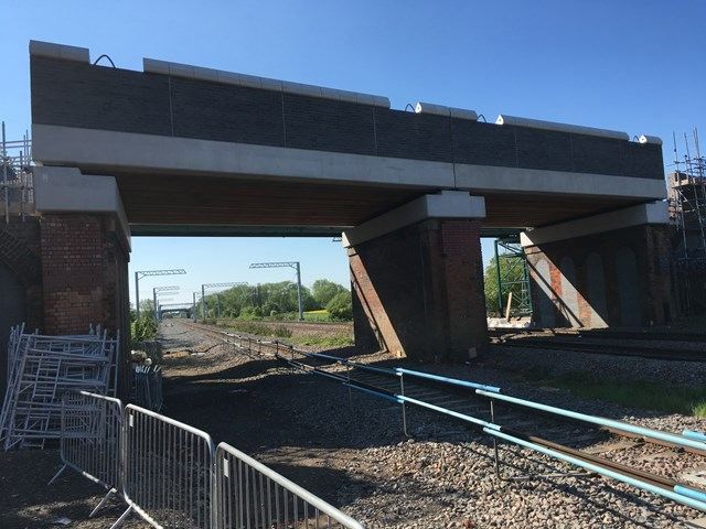 Major milestones reached in reconstruction of two Northamptonshire road bridges and upgrade to Kettering station begins 4